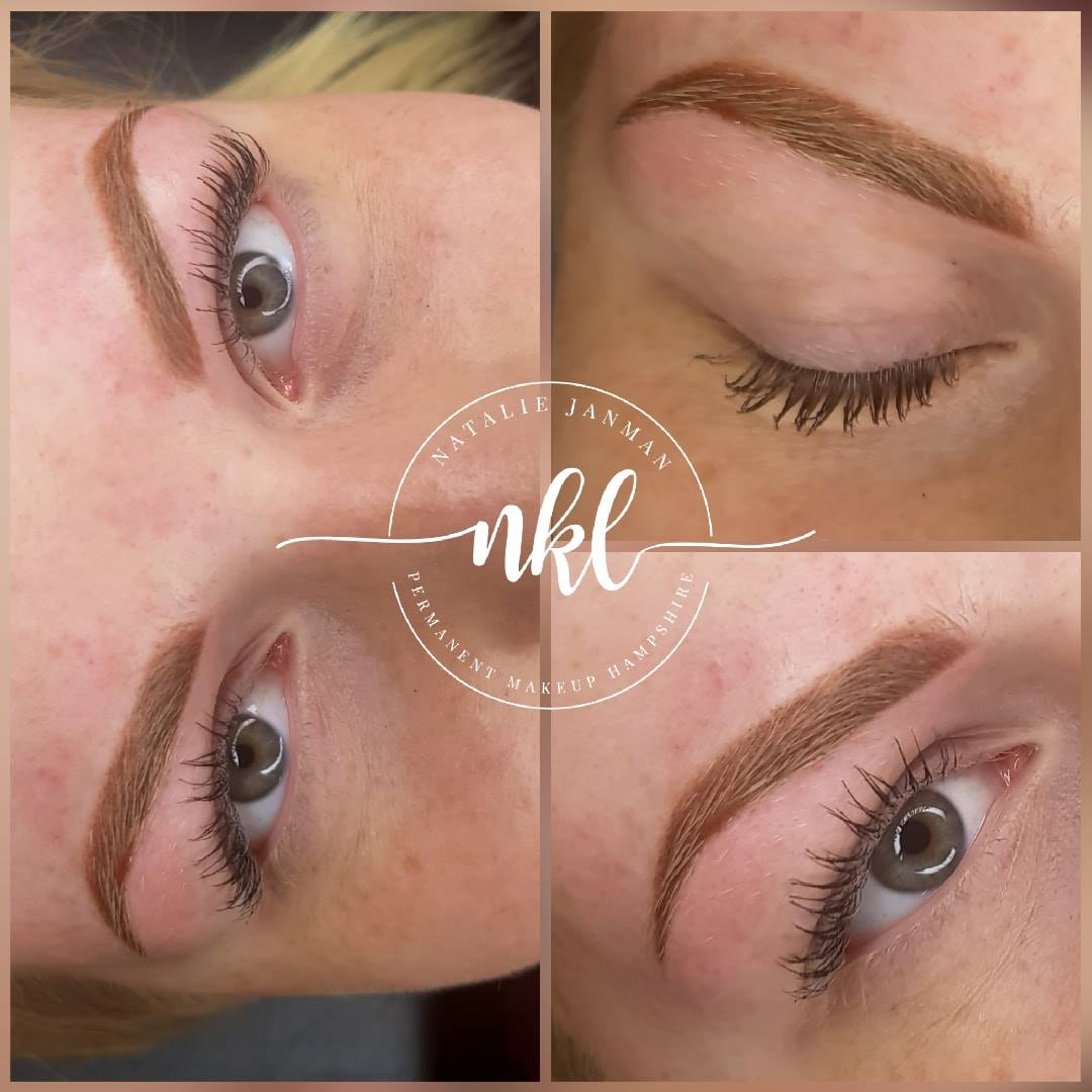 Ombre Brows for blondes